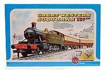 Airfix OO Gauge Great Western Suburban Train Set