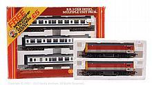 PAIR inc Hornby Railways OO Gauge 3-car DMU Set