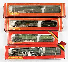 GRP inc Hornby Railways OO Gauge 4 x Steam