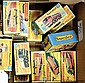 GRP inc Matchbox Superfast empty boxes