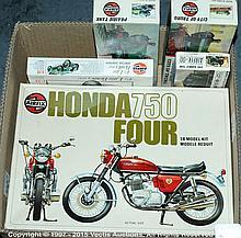 GRP inc Airfix boxed Kit Honda 750, City