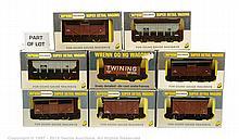 GRP inc Wrenn 15 x assorted wagons W4630