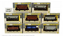 GRP inc Wrenn 15 x assorted Wagons W4644
