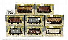 GRP inc Wrenn 14 x assorted Wagons W5007X