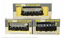 GRP inc Wrenn 3 x Wagons W5088 Hopper Wagon