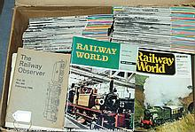 QTY inc Collection of Railway World