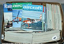 QTY inc Collection of Railway related Magazines