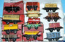 GRP inc Hornby O Gauge assorted Wagons No.30