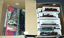 QTY inc Collection of loco models a Henschel