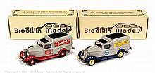 PAIR inc Brooklin No.16 Dodge van - 1936, grey