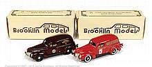 PAIR inc Brooklin No.9X Ford van - Model Cars