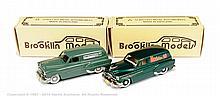 PAIR inc Brooklin No.31X Pontiac van - green