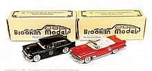 PAIR inc Brooklin No.25X, No.26X Toy Show - 1958
