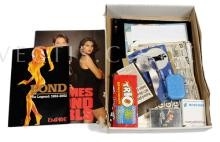 QTY inc James Bond Memorabilia Lot. Scalextric