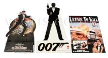 GRP inc James Bond Counter Standees.