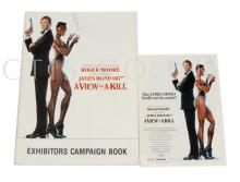 A View To A Kill (1985) UK Exhibitors Campaign