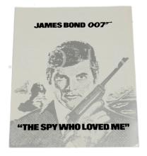 The Spy Who Loved Me (1977) UK Fold-out