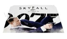 Skyfall (2012) Film Poster. UK Quad. Teaser