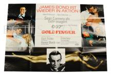 Goldfinger (1964) Film Poster. German A0. Single