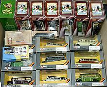 GRP inc Corgi Classics OB Coaches and Tramline