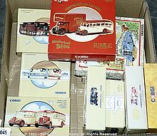 GRP inc Corgi Classics 1/50th scale Bus & Coach