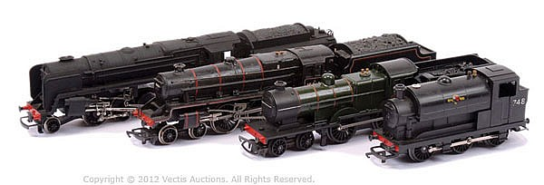 GRP Various plastic production Locomotives