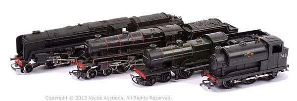 GRP Various plastic production Locomotives