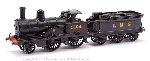 Constructed OO Gauge Kit with motor of a 2-4-0
