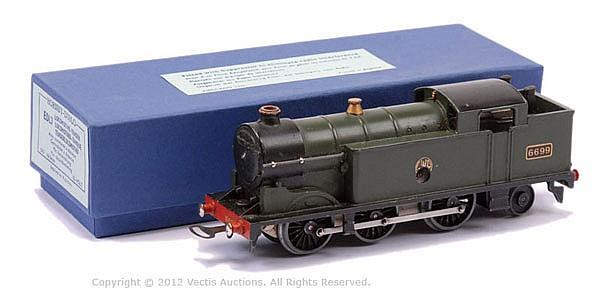 Hornby Dublo (pre-war) DL7 0-6-2 clockwork GWR