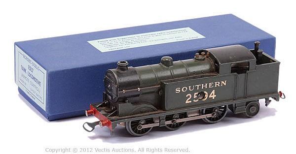 Hornby Dublo (pre-war) DL7 clockwork 0-6-2