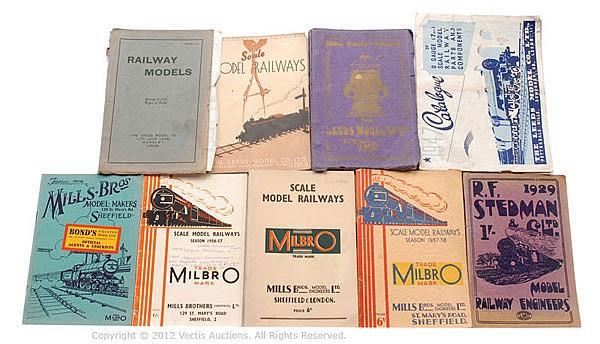 GRP Mills/Stedman and Leeds various Catalogues