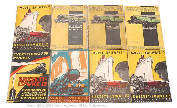 GRP Bassett-Lowke assorted Catalogues