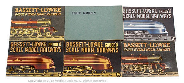 GRP Bassett-Lowke Scale Model Railways Catalogue