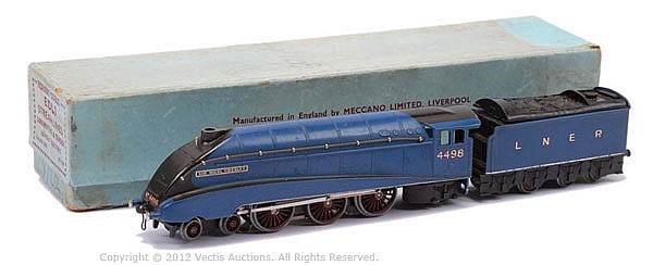 Hornby Dublo (pre-war) 3-rail EDL1 Streamlined