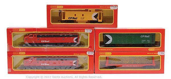 GRP Hornby Railways OO Gauge Loco, Rolling Stock