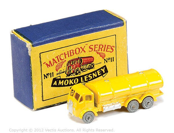 Matchbox Regular Wheels No.11A ERF Petrol Tanker