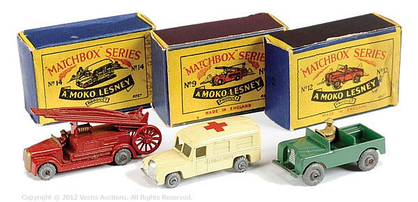 GRP inc Matchbox Regular Wheels No.9A Dennis