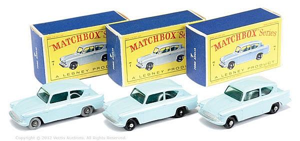 GRP inc Matchbox Regular Wheels No.7B Ford