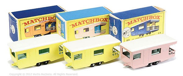 GRP inc Matchbox Regular Wheels No.23D Trailer