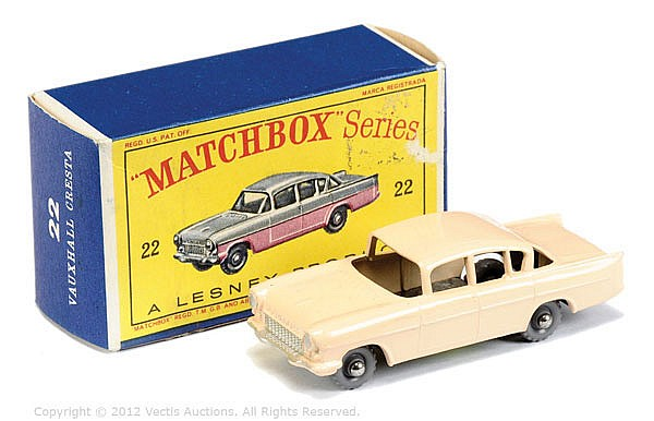 Matchbox Regular Wheels No.22B Vauxhall Cresta