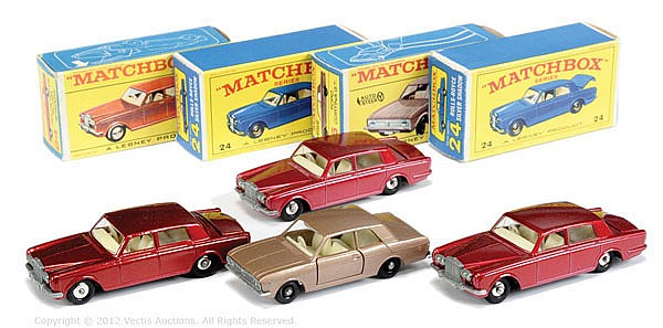 GRP inc Matchbox Regular Wheels No.24C Rolls