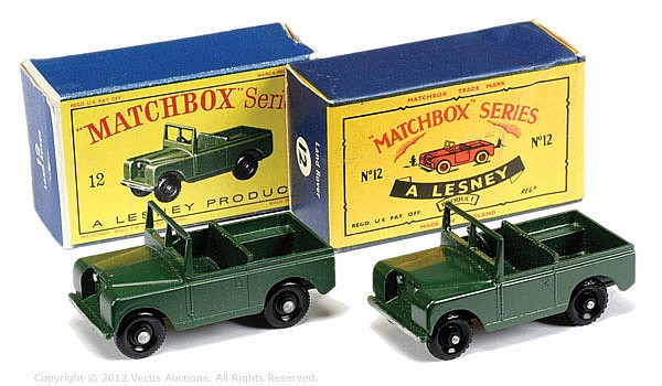 PAIR inc Matchbox Regular Wheels No.12B Land
