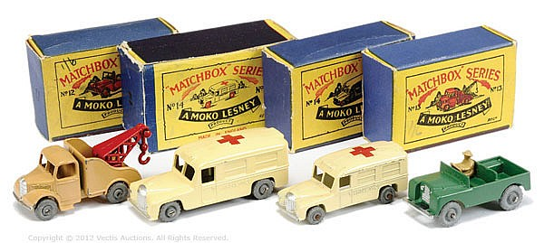 GRP inc Matchbox Regular Wheels No.12A Land