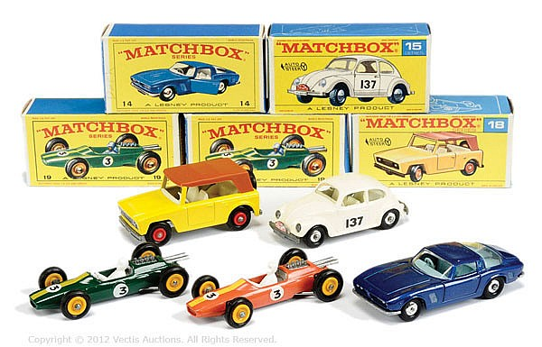 GRP inc Matchbox Regular Wheels No.14D ISO Grifo