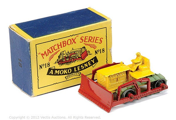 Matchbox Regular Wheels No.18A Caterpillar