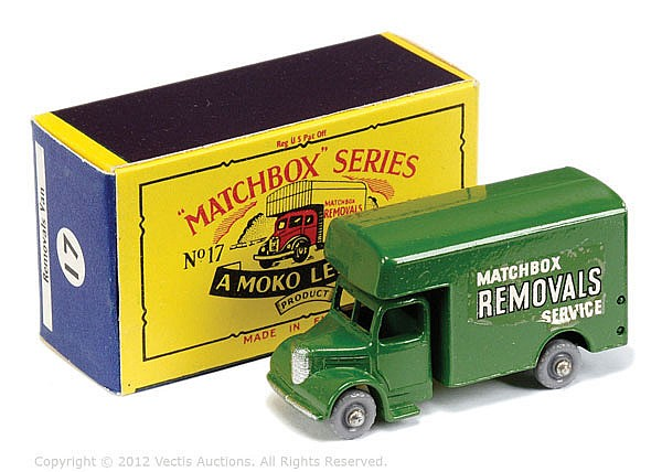 Matchbox Regular Wheels No.17B Bedford Removals