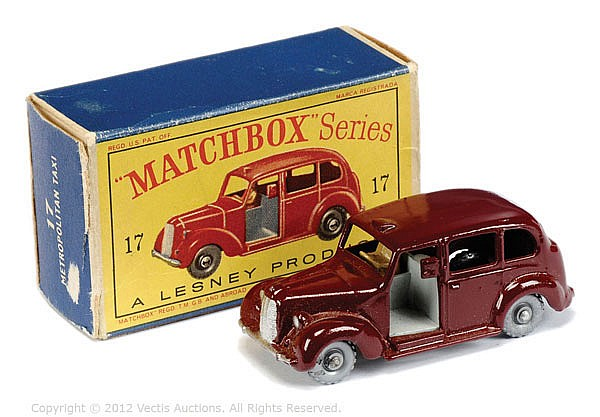 Matchbox Regular Wheels No.17C Austin FX3