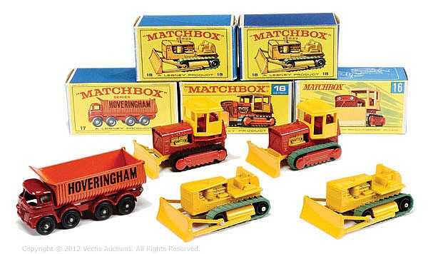 GRP inc Matchbox Regular Wheels No.16D Case