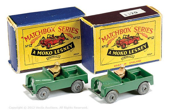PAIR inc Matchbox Regular Wheels No.12A Land