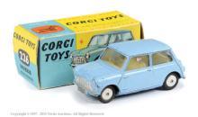 Corgi No.226 Morris Mini Minor - pale blue